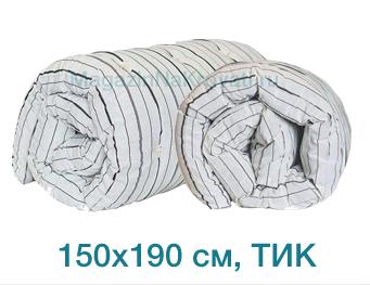 Дешевый матрас вата ТИК размер 150x190 см, арт. 03020109, производитель – Иваново – купить в интернет-магазине недорого