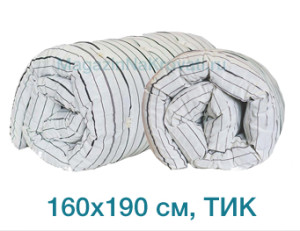 Дешевый матрас вата ТИК размер 160x190 см, арт. 03020110, производитель – Иваново – купить в интернет-магазине недорого